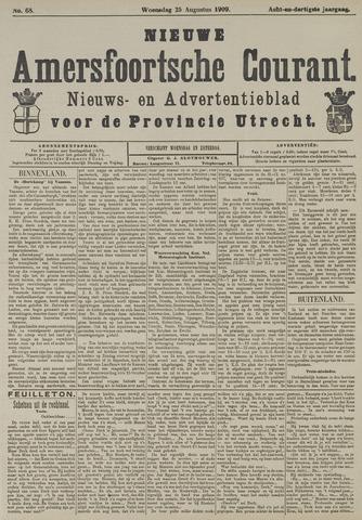 Nieuwe Amersfoortsche Courant 1909-08-25