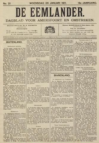 De Eemlander 1911-01-25