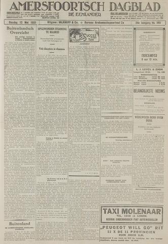 Amersfoortsch Dagblad / De Eemlander 1931-05-12