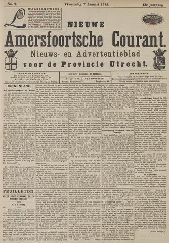 Nieuwe Amersfoortsche Courant 1914-01-07