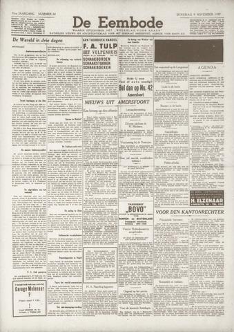 De Eembode 1937-11-09