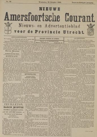 Nieuwe Amersfoortsche Courant 1903-10-28