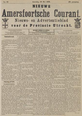 Nieuwe Amersfoortsche Courant 1920-05-22