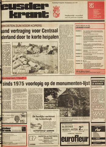 Leusder Krant 1977-08-18