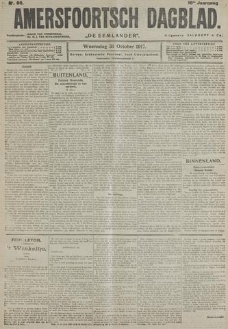 Amersfoortsch Dagblad / De Eemlander 1917-10-31