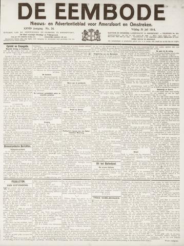 De Eembode 1914-07-31