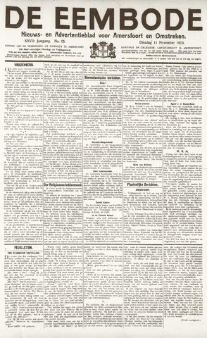 De Eembode 1913-11-11