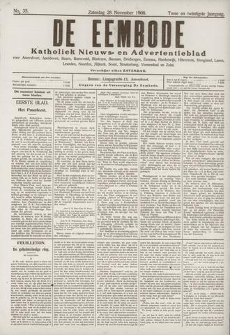 De Eembode 1908-11-28