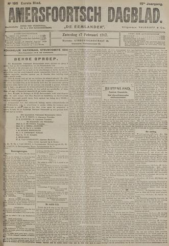 Amersfoortsch Dagblad / De Eemlander 1917-02-17