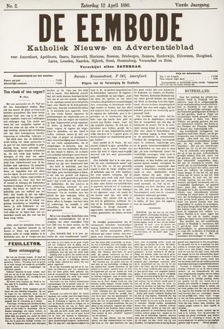 De Eembode 1890-04-12