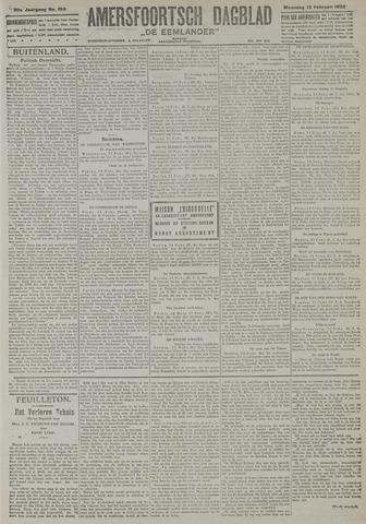Amersfoortsch Dagblad / De Eemlander 1922-02-13