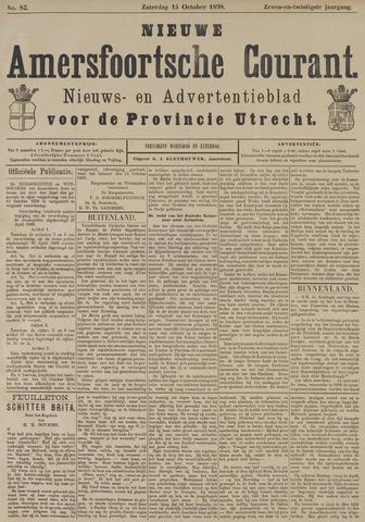 Nieuwe Amersfoortsche Courant 1898-10-15