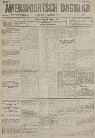 Amersfoortsch Dagblad / De Eemlander 1917-03-28