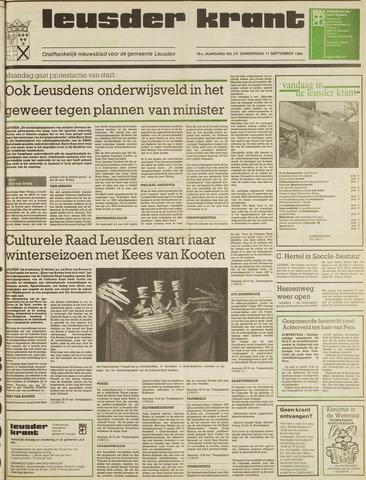 Leusder Krant 1986-09-11