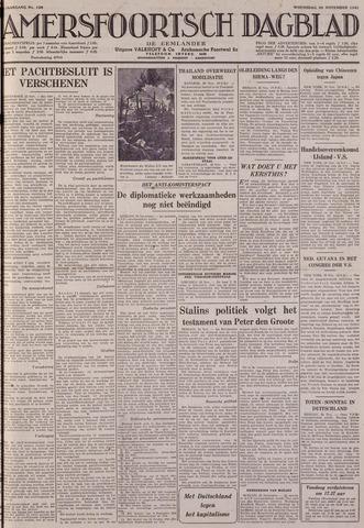 Amersfoortsch Dagblad / De Eemlander 1941-11-26