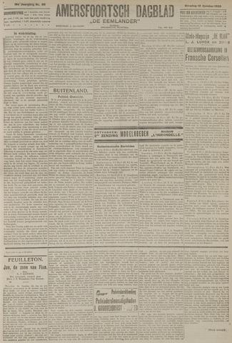 Amersfoortsch Dagblad / De Eemlander 1920-10-12