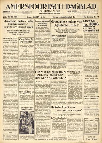 Amersfoortsch Dagblad / De Eemlander 1939-07-14