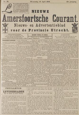 Nieuwe Amersfoortsche Courant 1916-04-12