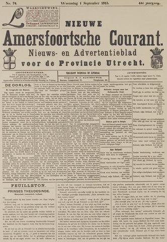 Nieuwe Amersfoortsche Courant 1915-09-01