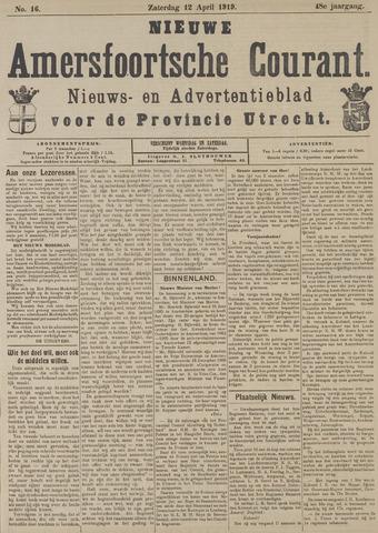 Nieuwe Amersfoortsche Courant 1919-04-12