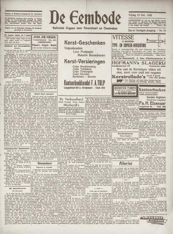 De Eembode 1932-12-23