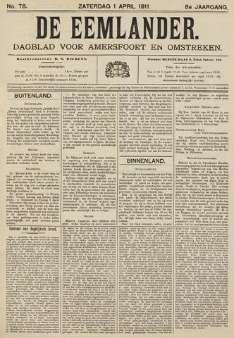 De Eemlander 1911-04-01