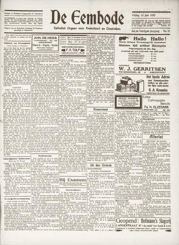 De Eembode 1932-06-10