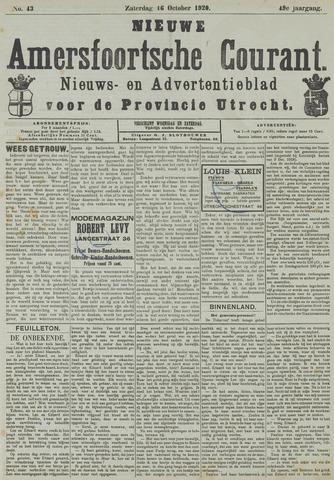 Nieuwe Amersfoortsche Courant 1920-10-16