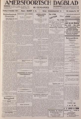 Amersfoortsch Dagblad / De Eemlander 1934-11-27