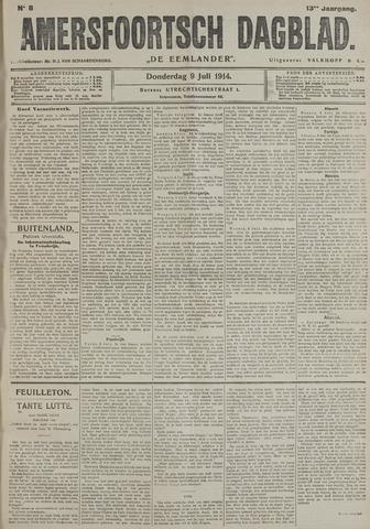 Amersfoortsch Dagblad / De Eemlander 1914-07-09