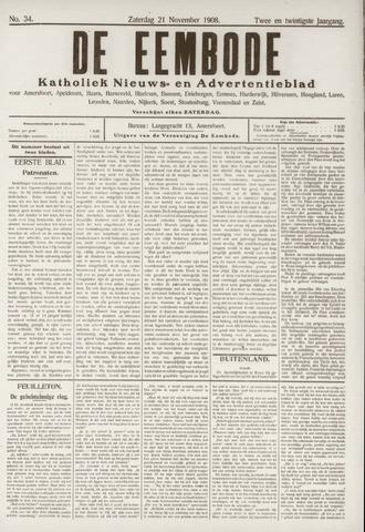 De Eembode 1908-11-21