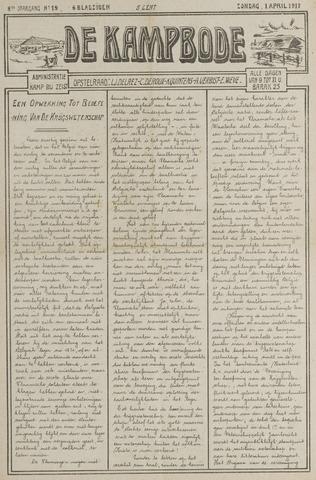 De Kampbode 1917-04-01