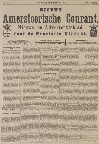 Nieuwe Amersfoortsche Courant 1912-09-18