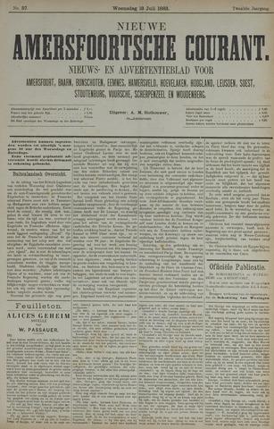 Nieuwe Amersfoortsche Courant 1883-07-18