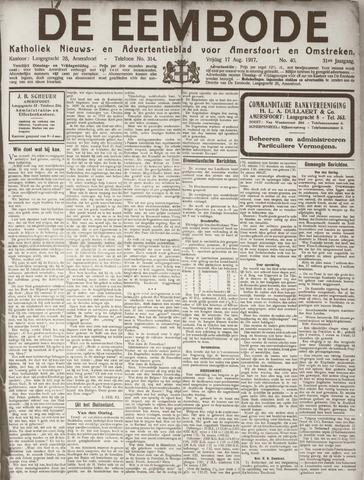 De Eembode 1917-08-17