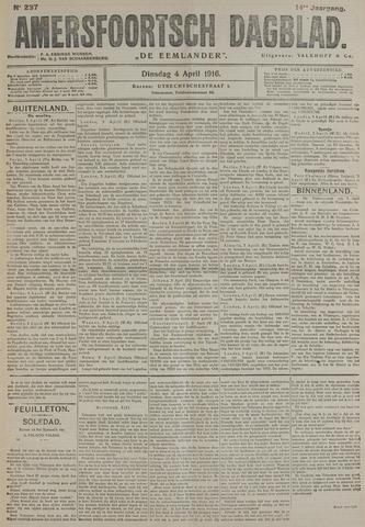 Amersfoortsch Dagblad / De Eemlander 1916-04-04