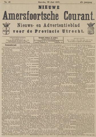 Nieuwe Amersfoortsche Courant 1918-06-29