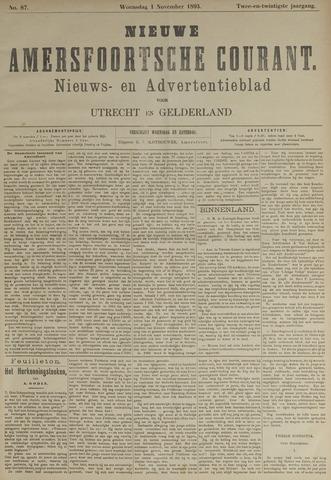 Nieuwe Amersfoortsche Courant 1893-11-01