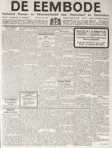 De Eembode 1916-01-21