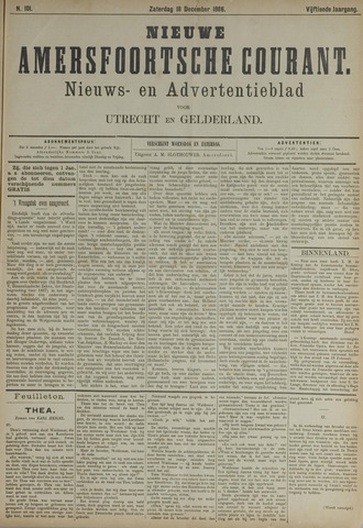 Nieuwe Amersfoortsche Courant 1886-12-18