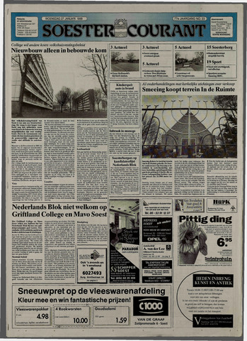 Soester Courant 1999-01-27