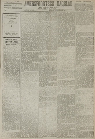 Amersfoortsch Dagblad / De Eemlander 1920-02-07