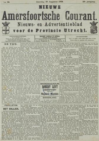 Nieuwe Amersfoortsche Courant 1920-08-28