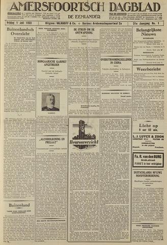 Amersfoortsch Dagblad / De Eemlander 1932-07-01