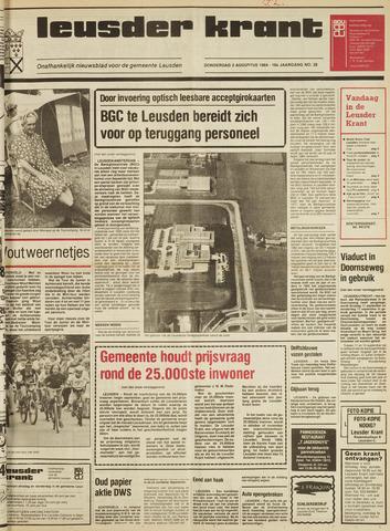 Leusder Krant 1984-08-02