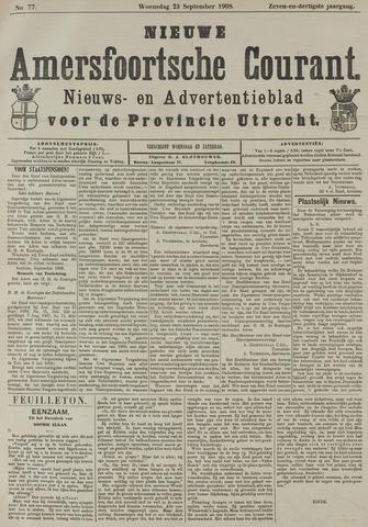 Nieuwe Amersfoortsche Courant 1908-09-23
