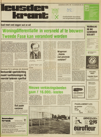 Leusder Krant 1981-04-09