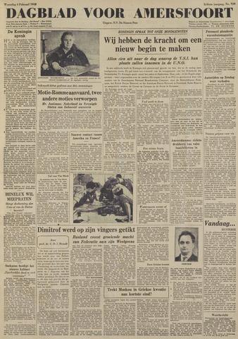 Dagblad voor Amersfoort 1948-02-04