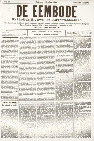 De Eembode 1898-10-01