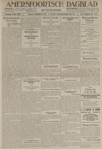 Amersfoortsch Dagblad / De Eemlander 1933-05-22